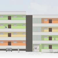 Konzept Fassadenanstrich