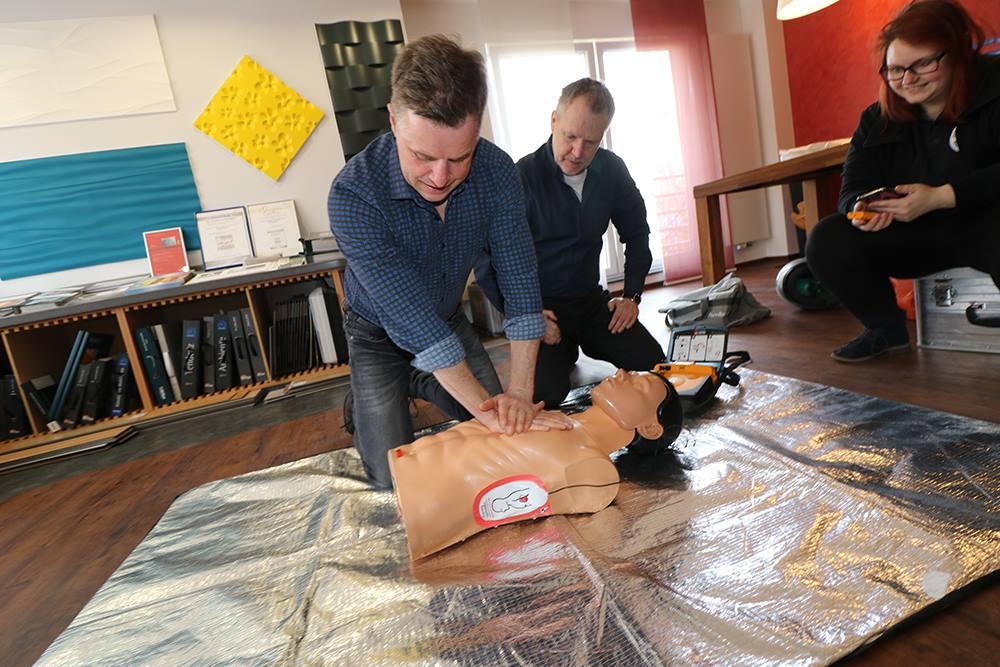 Bild: Erste-Hilfe Kurs DRK