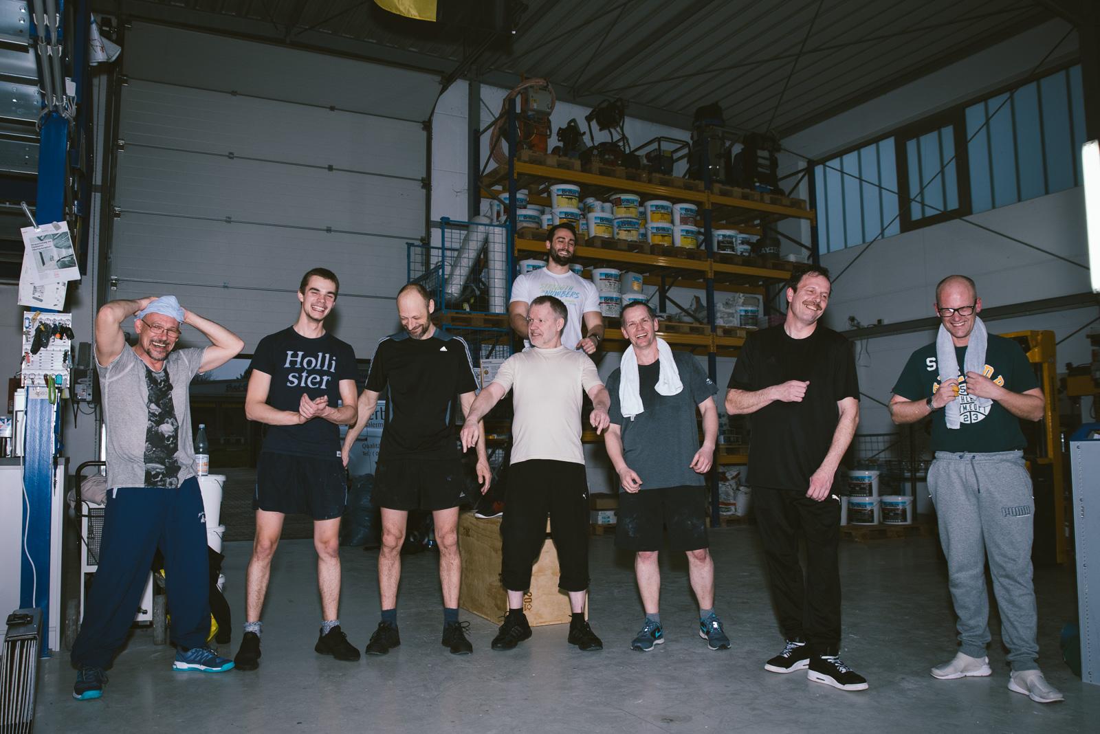 Bild: Wir halten uns fit!
