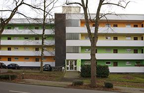 Bild: Fassadenanstrich nach Farbkonzept Mehrfamilienhaus Witten